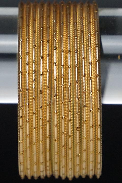 Gold Metall Armreifen