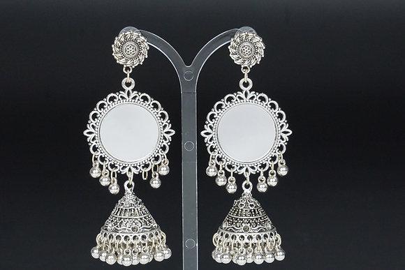 Metallic Mirror Ohrringe