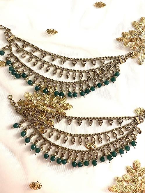 Green Sahare für Ohrringe