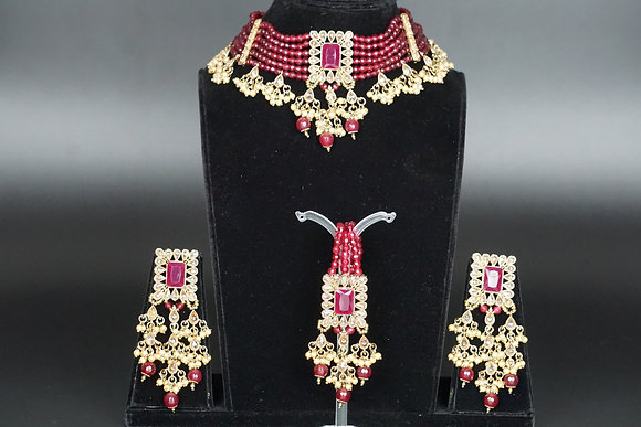 Ruby Choker Set