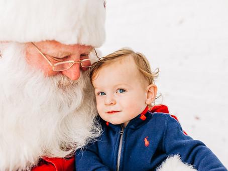 Santa Mini Sessions!*UPDATED*
