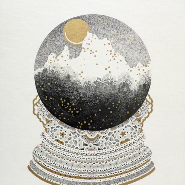 s_Something,2012,31.5x22cm,Pencil,gold c