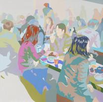 s_110311 Acrylic on Canvas 140x140cm 201