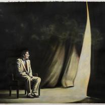 Corinne Chaix, Plato, Acrylic, pastel on