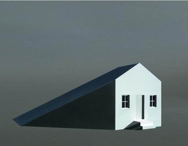 Michael Jantzen, Shadow House, Painted p