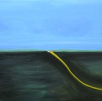 [크기변환]넘는 풍경 Oil on canvas 72.7x100.0cm 2