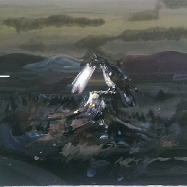 s_Tsai Shih Hung, The Wasteland, Acrylic