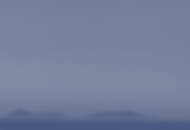 Inframince-horizon, Inkjet print, 74.5X1