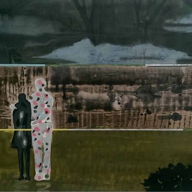 s_Tsai Shih Hung, Together, Acrylic on c