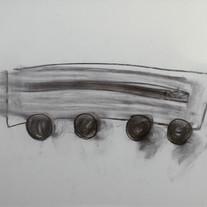 [크기변환]환상여행, 2018, Drawing on paper, 54.5