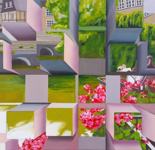 Outing 65¡¿50 oil on canvas.jpg