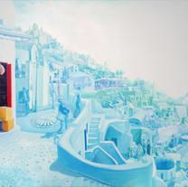 s_여행자-마들렌상점 l Acrylic on canvas l 121x21