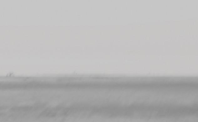 Inframince-horizon, Inkjet print, 90.8X1