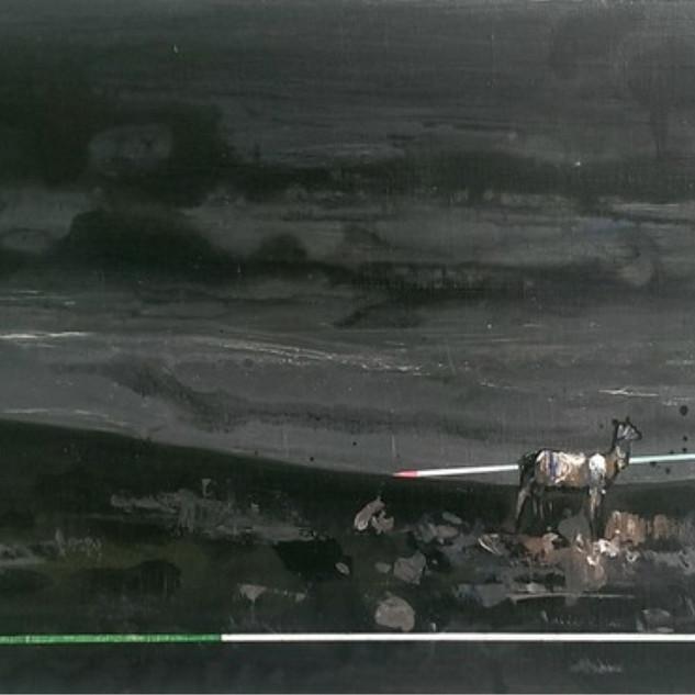 s_Tsai Shih Hung, The Deer, Acrylic on c