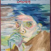 Joseph K. (The Trial, 1925), 2017, Oil o