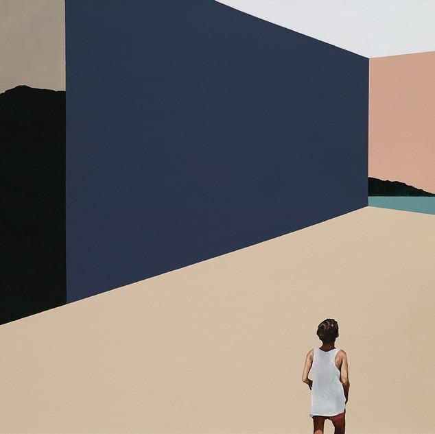 s휴가_소녀 2017 acrylic&oil on canvas  89.4X