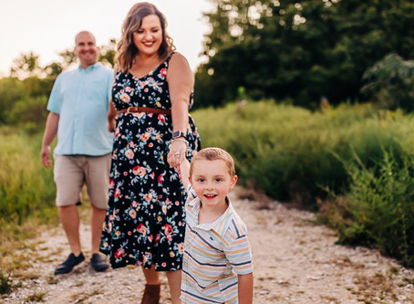 Lifestyle Family Photography Session with The Dixon's at Meads Quarry