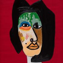 Work (21), Oil on Canvas, 101.5 x 76 cm.