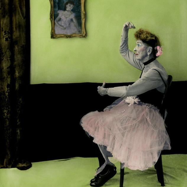 s_Aline Smithson, Arrangement in Green a