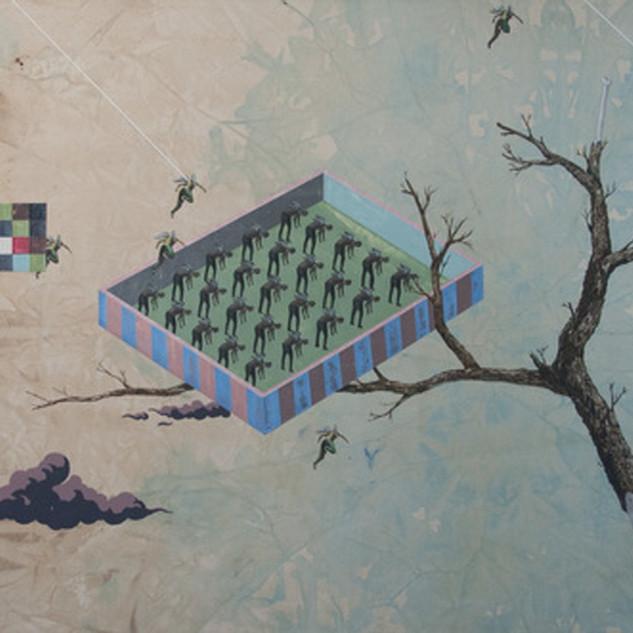 s_Tsai Shi Hung, The Hive, Acrylic on ca