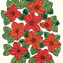 s_HA Jung-Woo_Red flower_50x39cm_acrylic