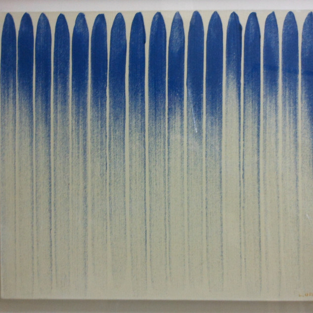 s_LEE Ufan, From Line, 1982, pigment sus