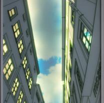 s_6_하늘이 보이는 풍경_ 2013_80x102x4.5cm_ 강화유리에