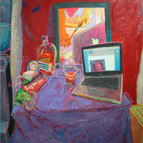 s_Andrew Foster, First Date, Oil on canv