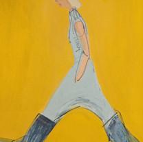 1 백윤조, Walk(portrait), 40F, oil on canva