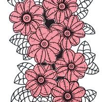 s_HA Jung-Woo_Pink flower_50x39cm_acryli