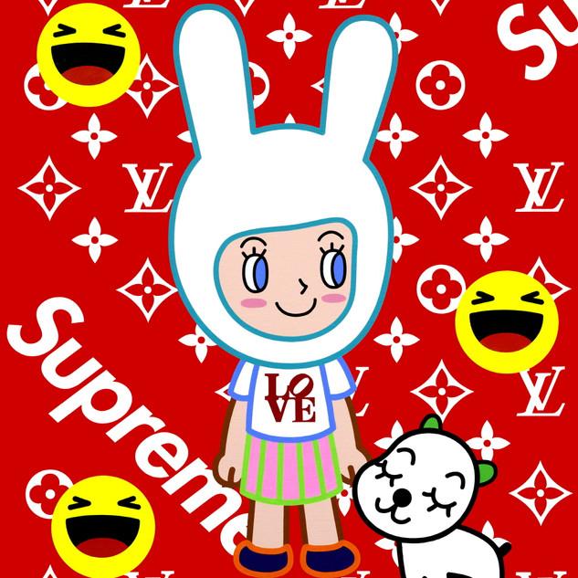 M404_소녀_60.6x72.7cm(20호)_acrylic on canv