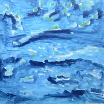 [크기변환]Flow, 2018, Oil on canvas, 162.0 x