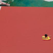 s수영장 2018 acrylic&oil on canvas 89.4X130