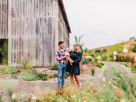 Westfall Family Photography Session at Seven Islands State Birding Park