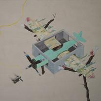 s_Tsai Shi Hung, When I Fly, Acrylic on