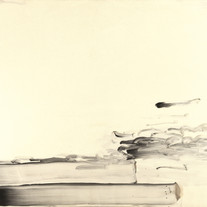 s_LEE Ufan, With Winds, 1990, pigment su