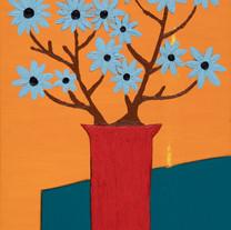 Work (19), Oil on Canvas, 101.5 x 76 cm.