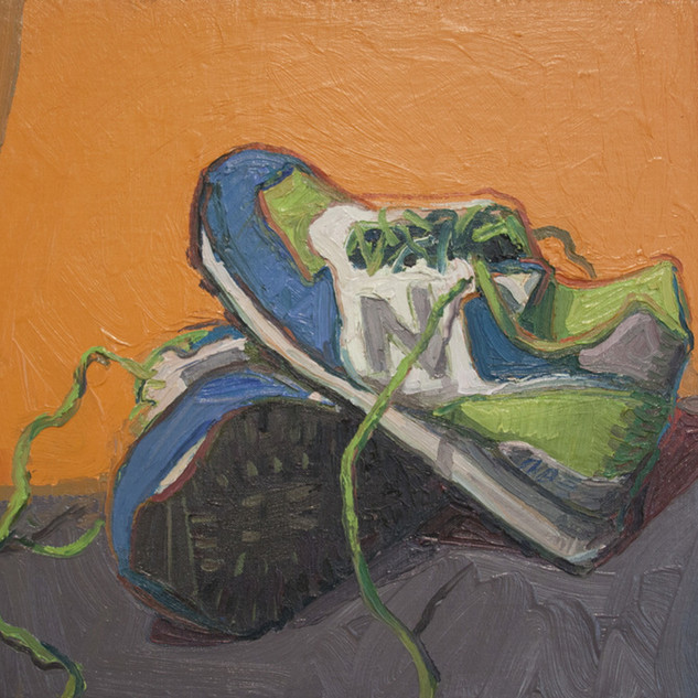 s_Andrew Foster, B-dubs Laces, Oil on li