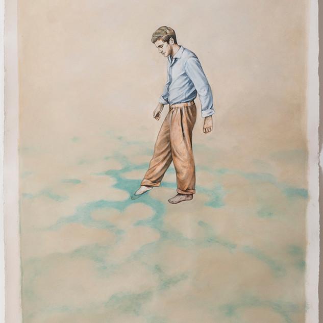 Corinne Chaix, Dangerous Waters, Acrylic