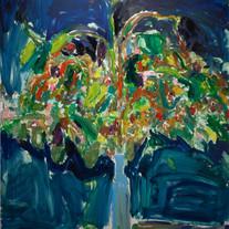 [크기변환]생각, 2018, Oil on canvas, 227.3 x 1