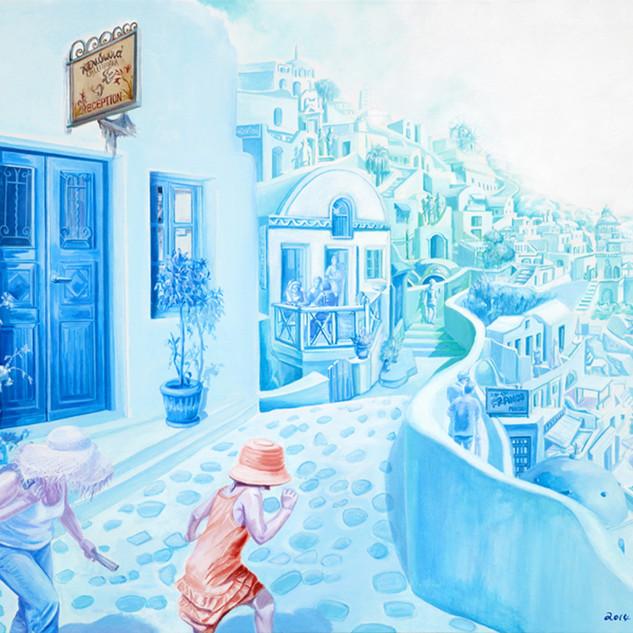 s_여행자-짝짜꿍 l Acrylic on canvas l 61x73cm