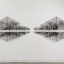 MUrbanscape_118x350x20cm_Steel, Powder c