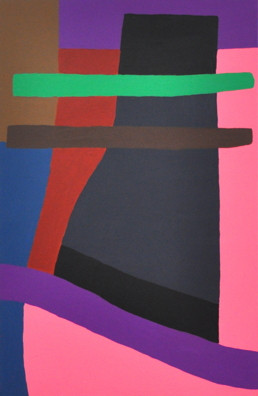 night sounds,acrylic on canvas,100x65,20