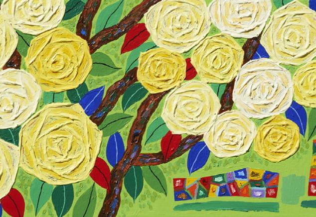 s_6_아득한 은유_Happy rose, 시작의 시가 되어_Acrylic