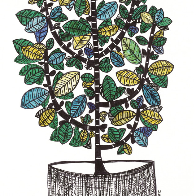 s_HA Jung-Woo_Money Tree_100x56cm_acryli