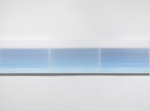 Inframince-horizon, Acrylic on canvas, (