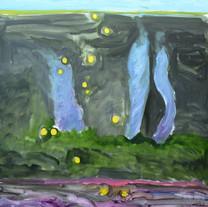 [크기변환]밤이되는 시간, 2018, Oil on canvas, 162.