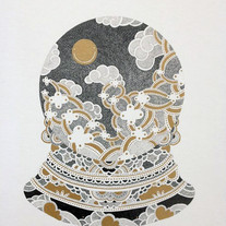 s_Something,2011,31.5x22cm,Pencil,gold c