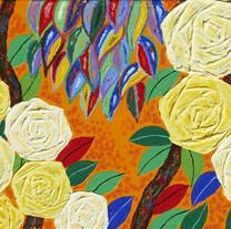 s_7_아득한 은유_Happy rose, 시작의 시가 되어_Acrylic