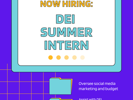 Now Hiring Summer Intern